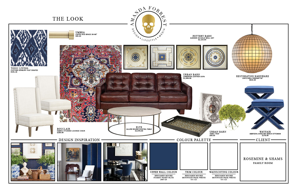Design Boards - Rosemine & Shams